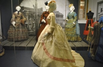 Photo of the Crinolines Exhibit