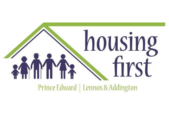 Prince Edward Lennox and Addington Housing First logo