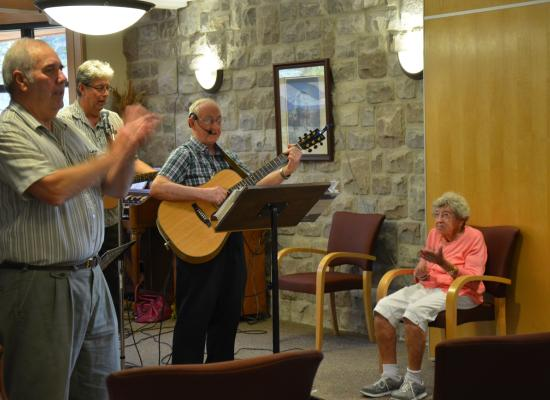 live entertainment at the John M Parrott Centre