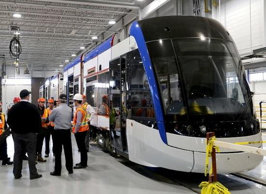 Bombardier Transit Vehicle